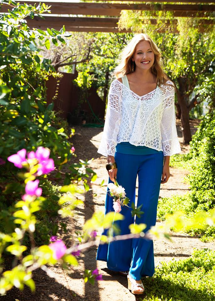 Lacy blouse on sale