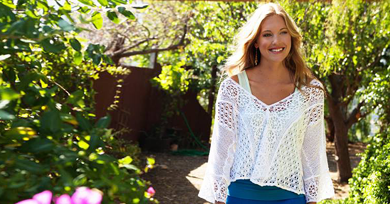 White Lacy Summer Shirt
